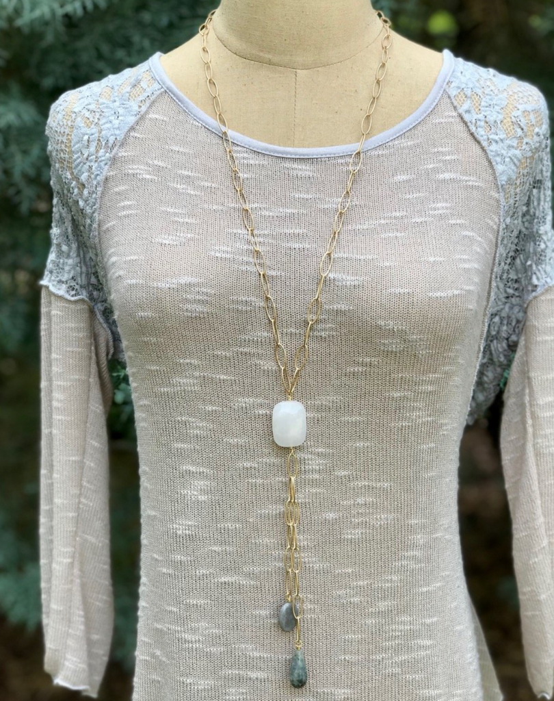 Beacon Long Necklace