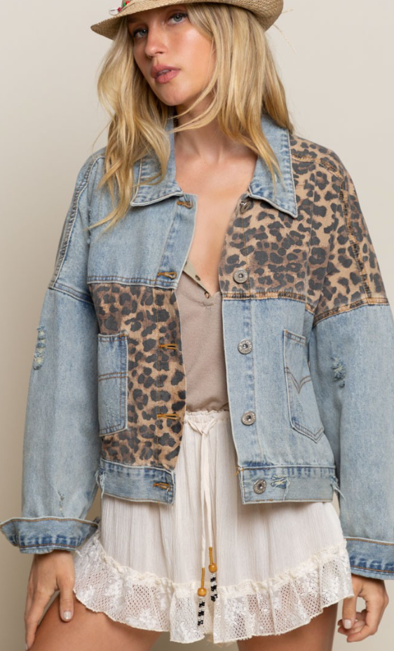 Off Duty Leopard Jacket
