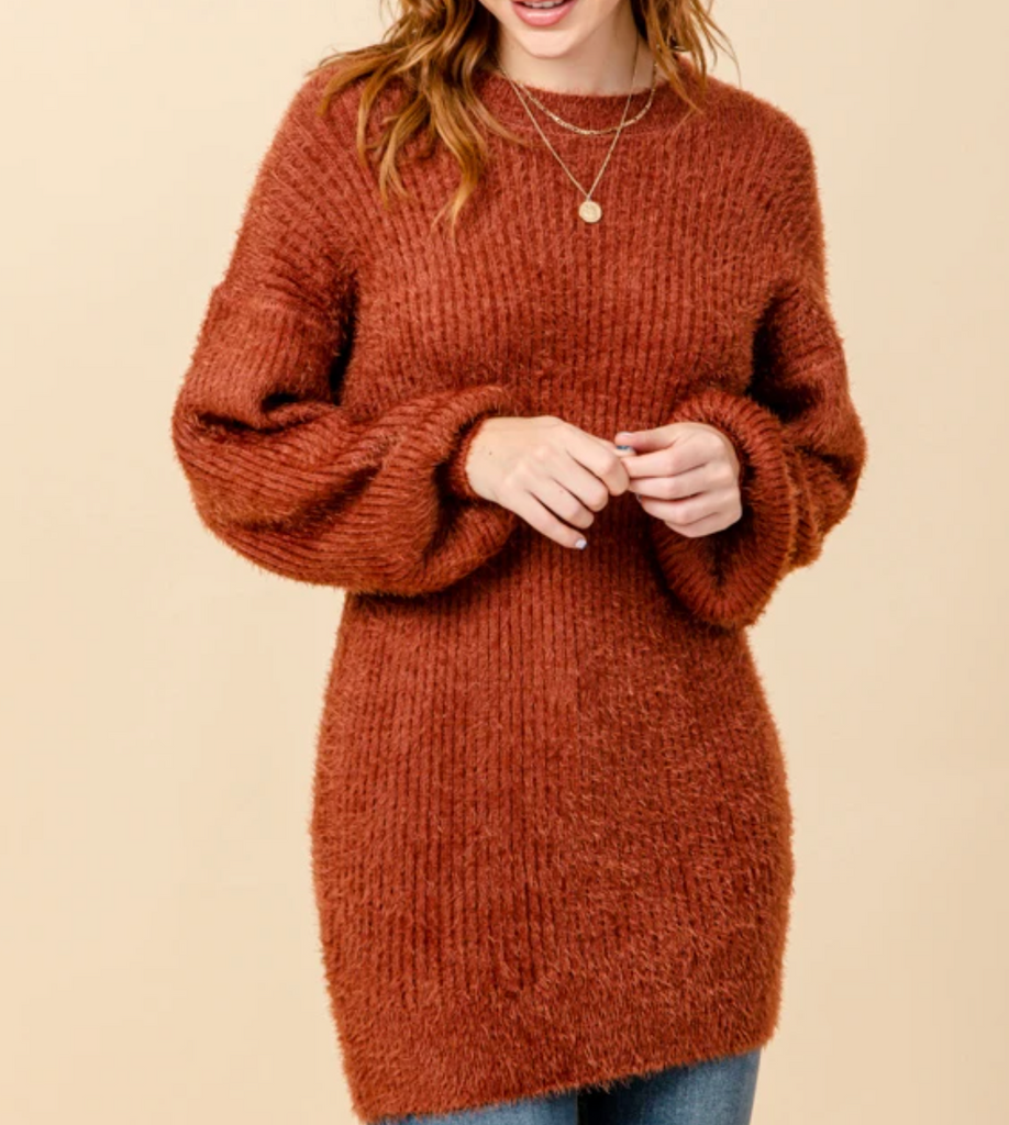 Danielle Oversized Tunic/ mini dress