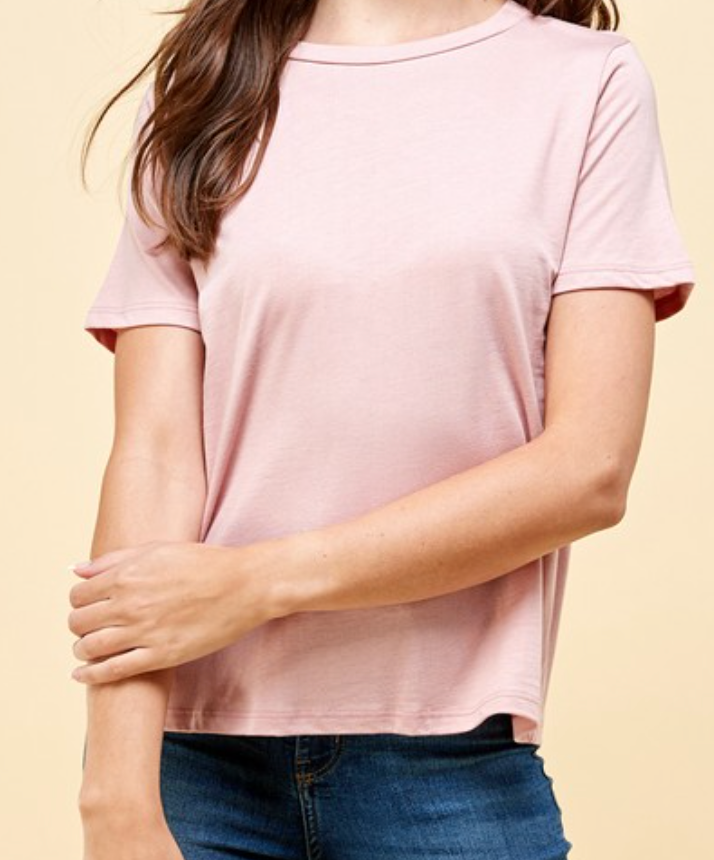 Harper Crew Cotton Tee