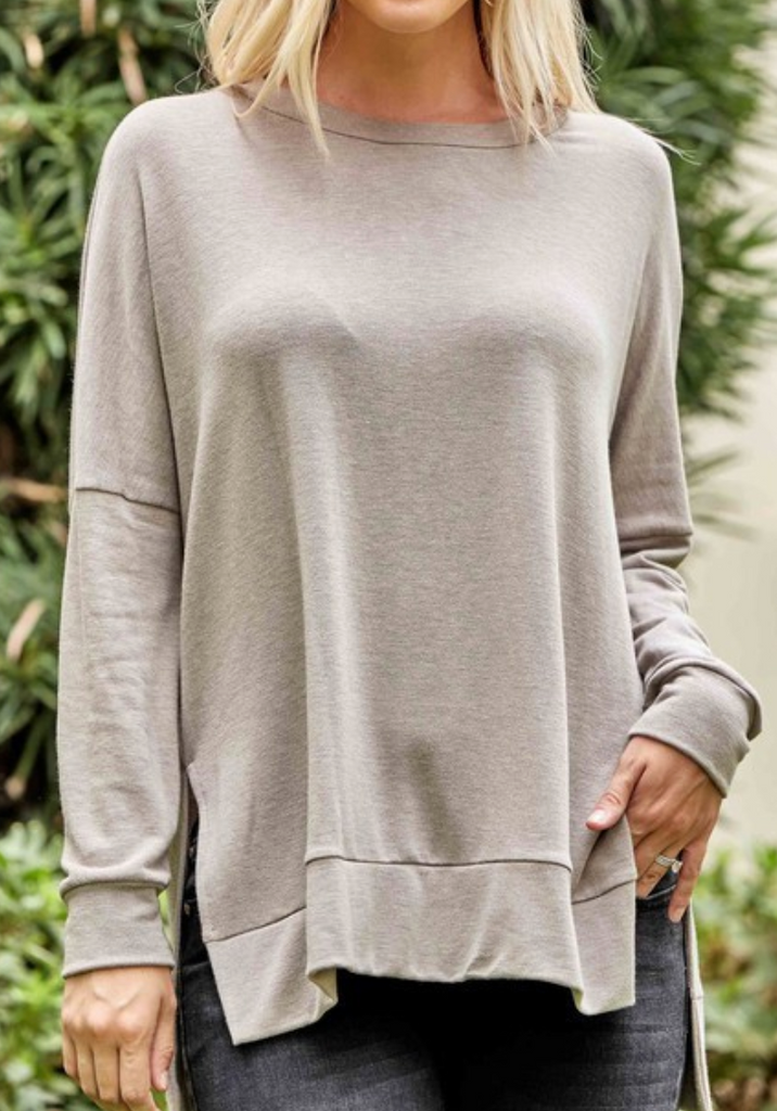 Monica Basic Sweatshirt