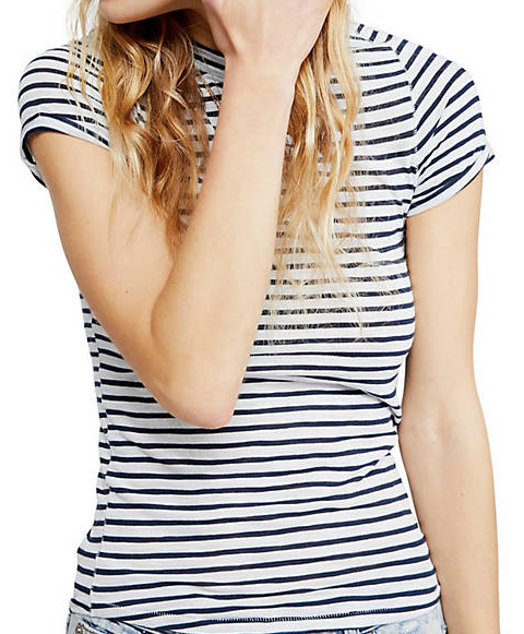 Night Sky Stripe Tee