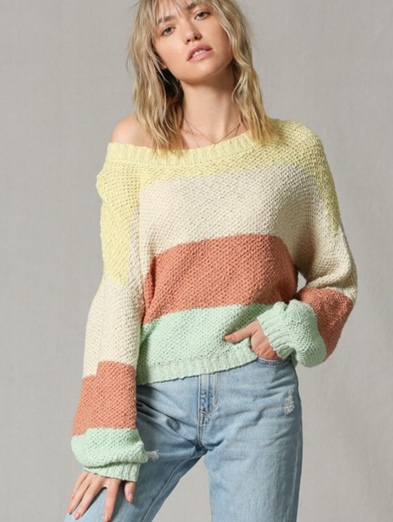 Molly Highlighter Sweater