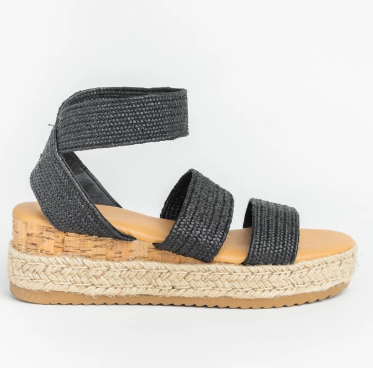 Knit Espadrille Wedge