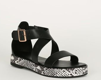 Snake Bottom Flatform Wedge