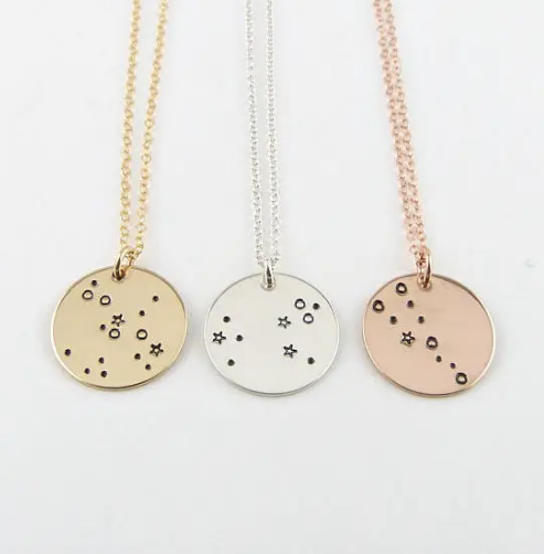Vintage Zodiac Sign Necklace