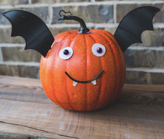 Bat Pumpkin Parts Sm