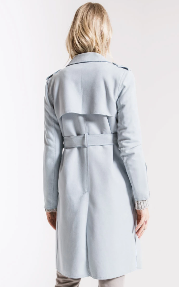 Verandah Belted Trench Coat By Rag Poets