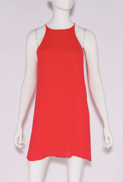 Gabriella High Neck Dress
