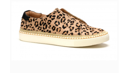 Cologne Leopard Print Slip-On Sneaker