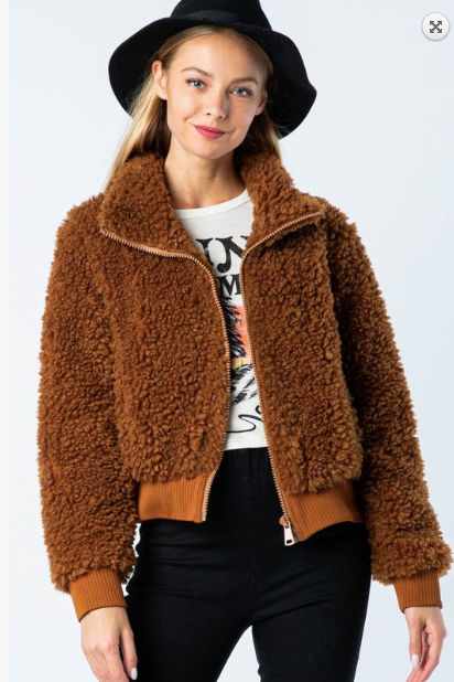 Easy To Love Fur Jacket