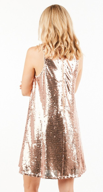 All That Sparkles Sequin Dress