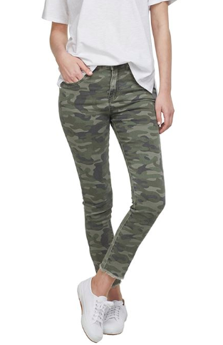 Rory Denim Jeans in Camo