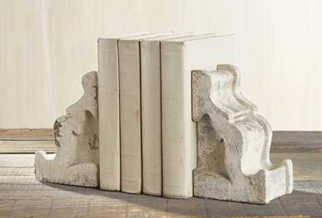 Concrete Bookend Set