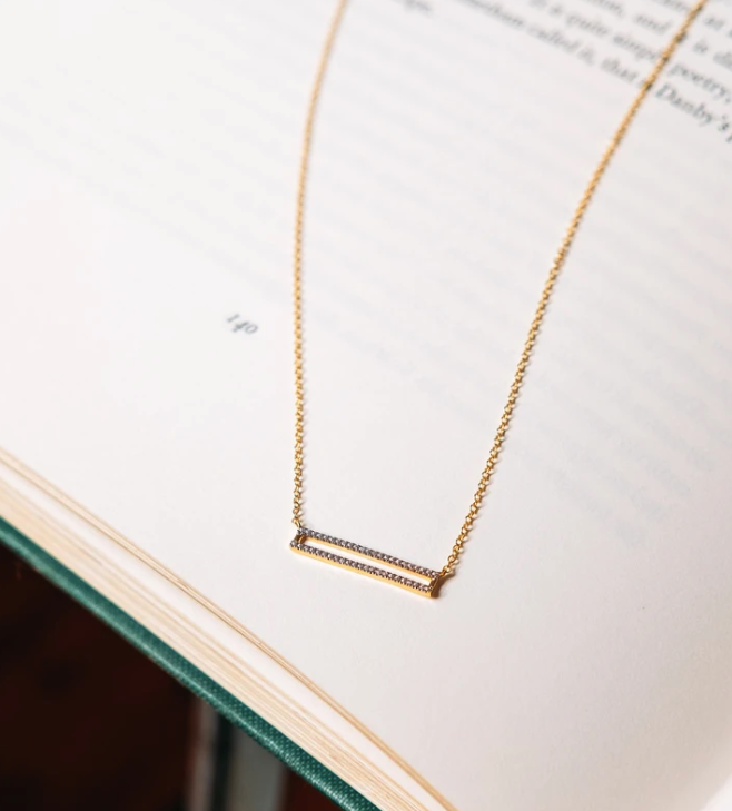 Set The Bar Necklace