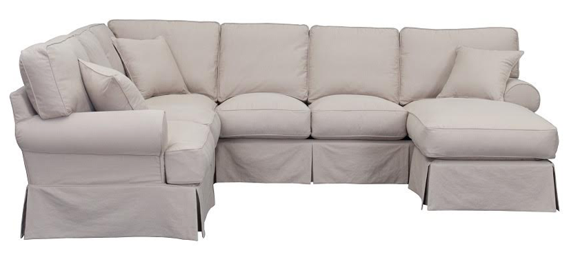 Priscilla Sectional Sofa- LAF Chaise