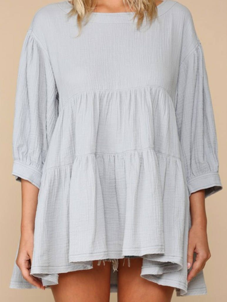 Quinn Cotton Gauze Top