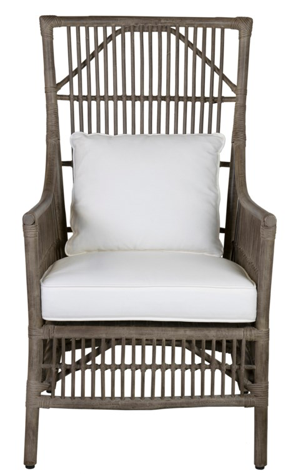 Winston Rattan High Back Chair
