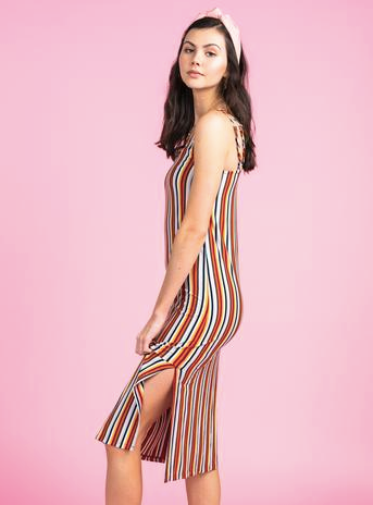 Sundown Slip Midi Dress