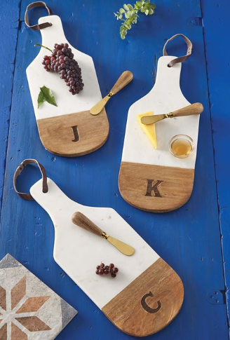 Marble & Wood Cutting Boards Initial