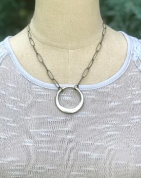 Infinity Circle Chain Necklace