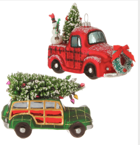 Automobile Tree Ornament