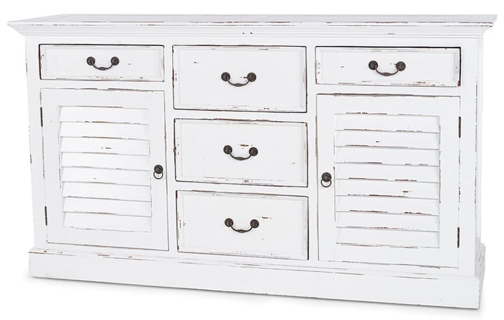 Shutter Chest w/ 5 Drawers- OLW