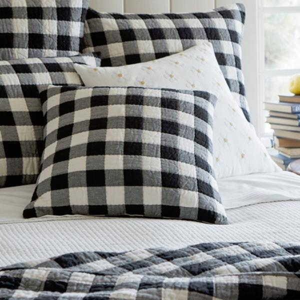 Parker Quilted Porch Pillow