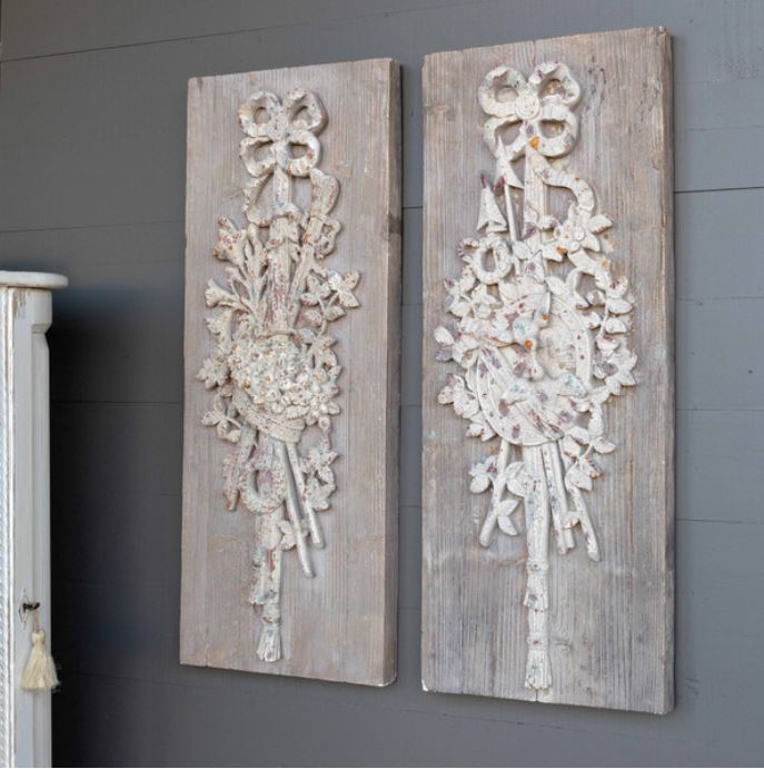 Garden Inspired Wall Plaques