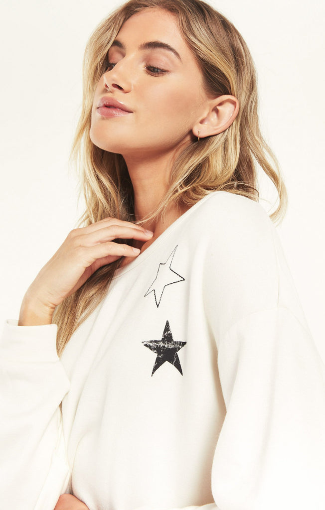 Night Owl Starry Sweatshirt