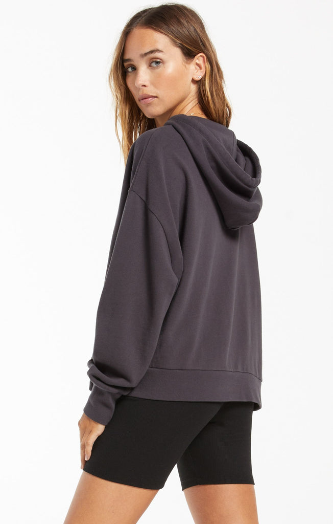 Jerri Cut-Out Terry Sweatshirt