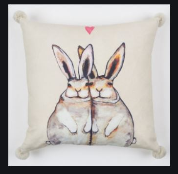 Bunny Friends Pillow