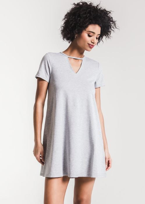 The Cut Out Front Tee Dress