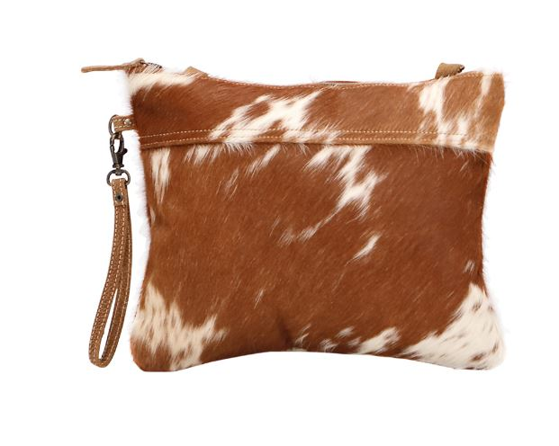 Ivory & Drab Hairon Crossbody
