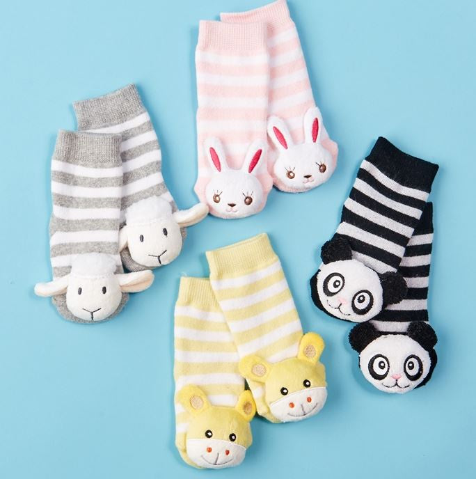 Adorable Rattle Socks