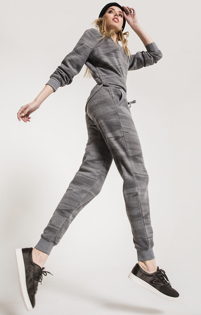 The Loft Fleece Camo Jogger