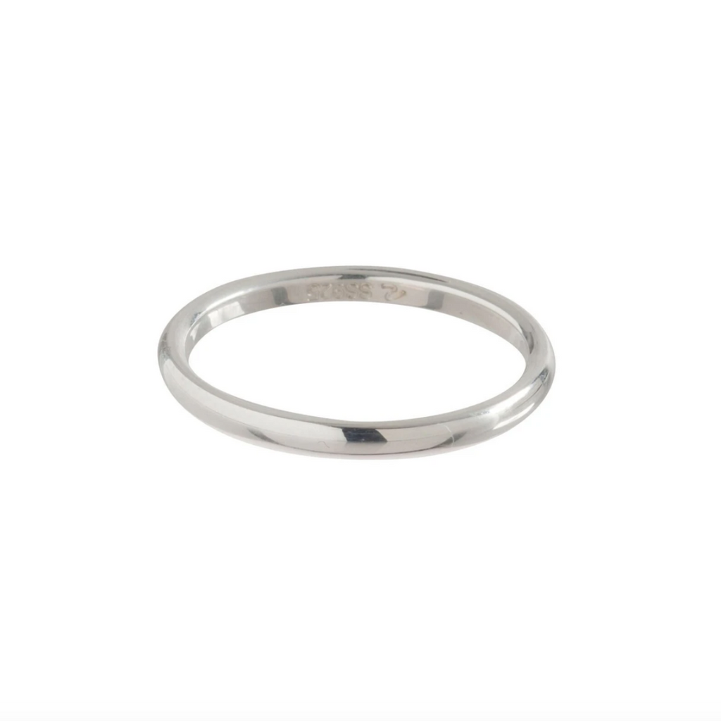 Classic Sterling Band Ring