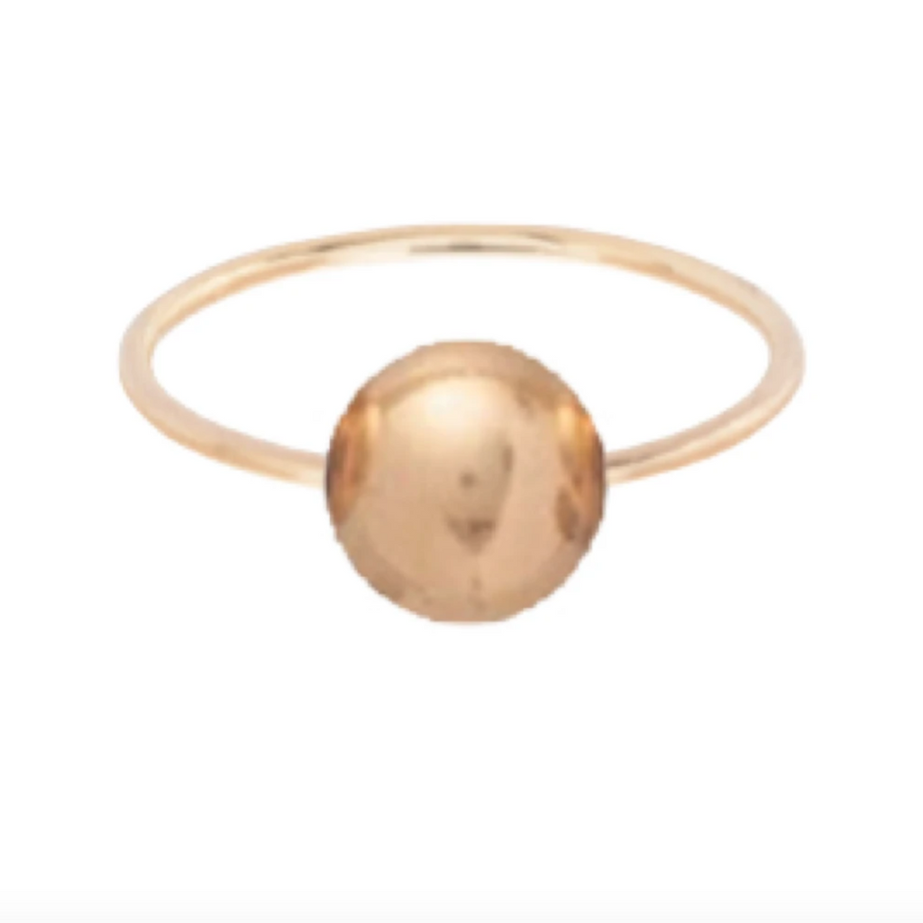 Clarity Ball Ring - Gold