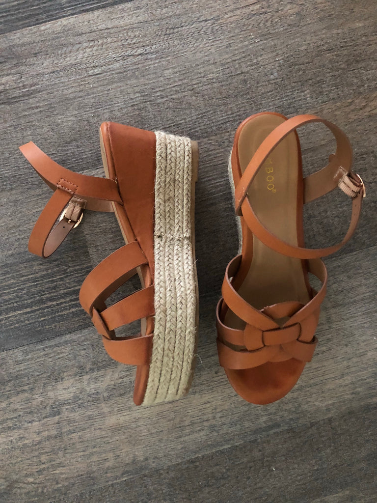 Daniela Open Toe Wedges