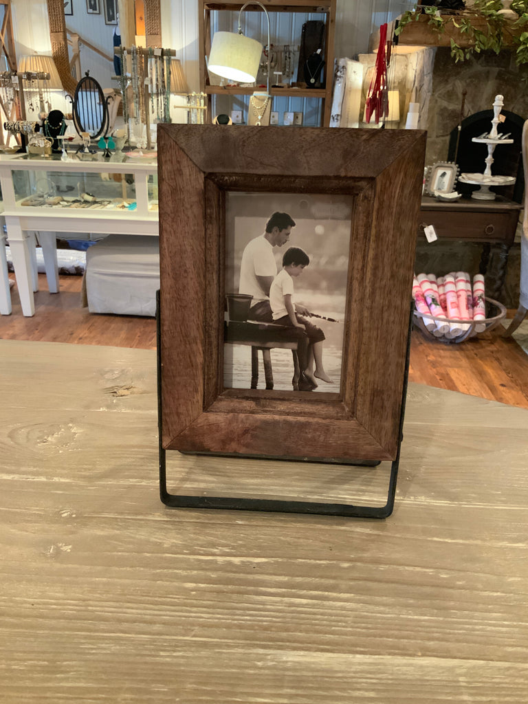 Small Wood Frame on Stand