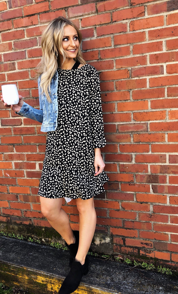 Gia Animal Print Dress