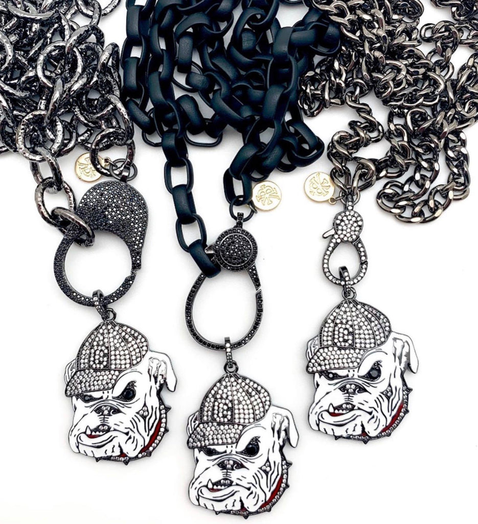 Gunmetal Chains