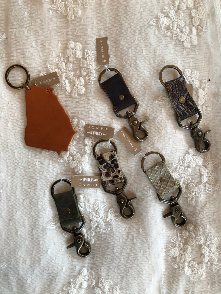 Canoe Key Chain