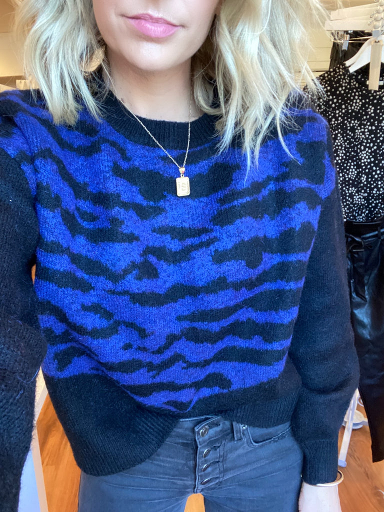 Twilight Stripe Sweater