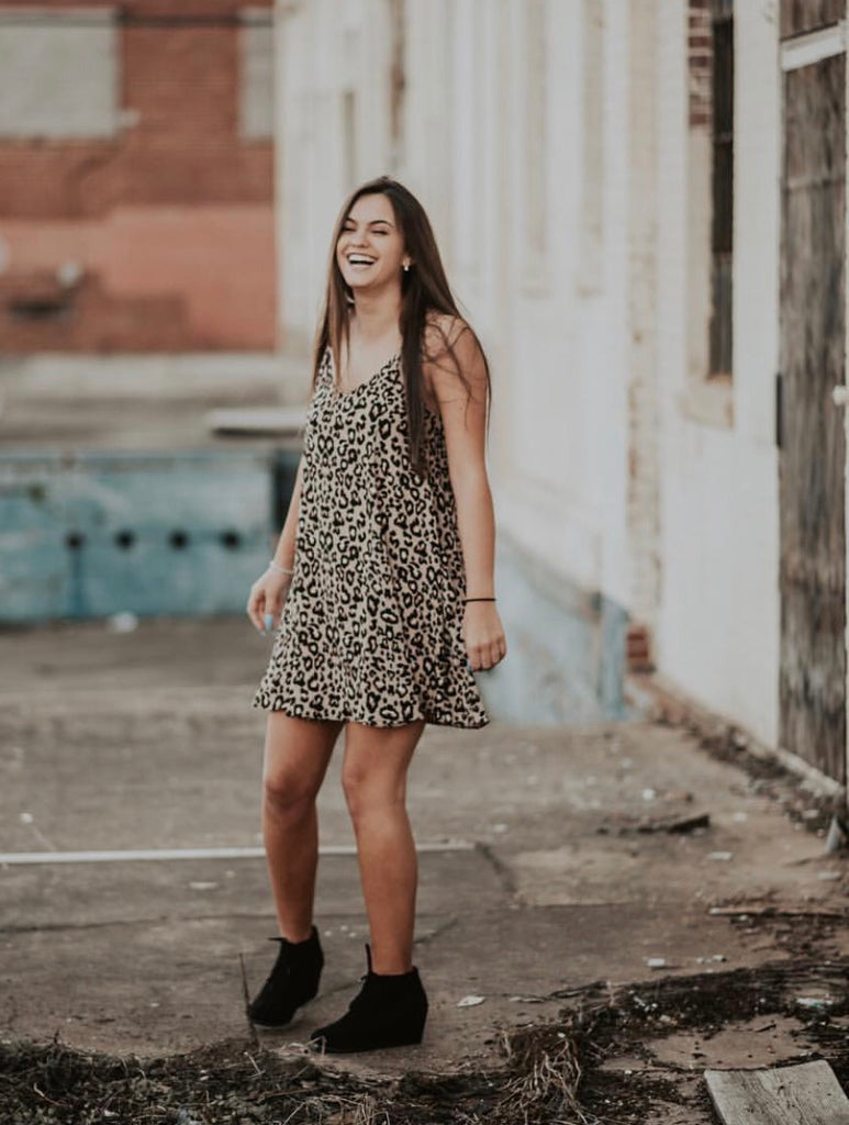 Leopard Cami Dress