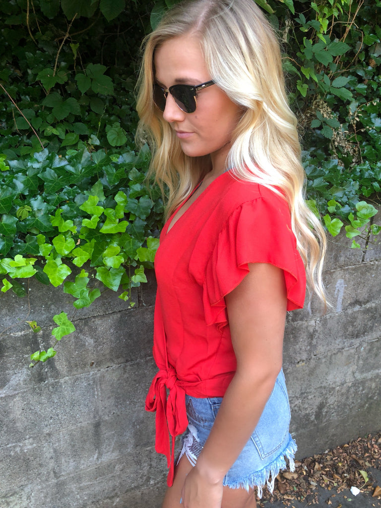 Willa Wrap Top