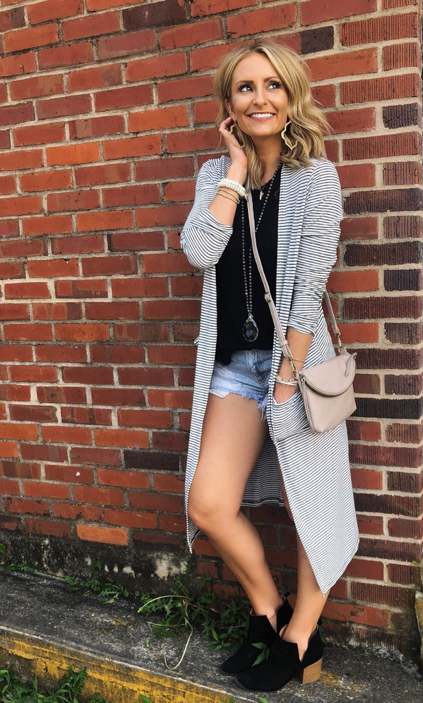 Kendra Open Faced Cardigan
