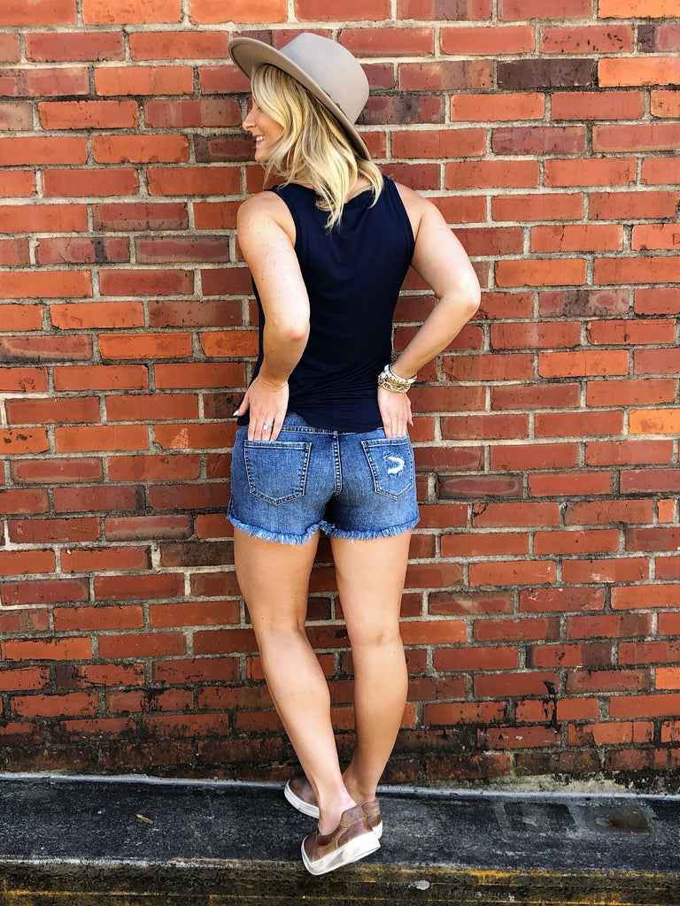 Beth Button Down Shorts