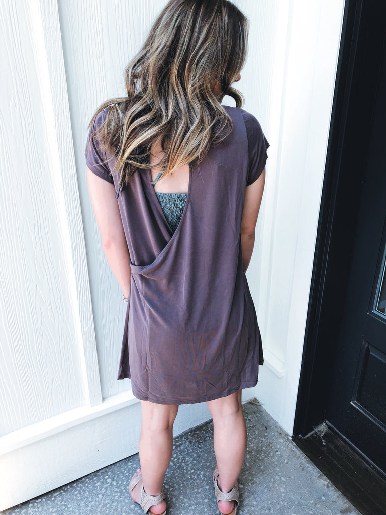 Faith Open Back Dress