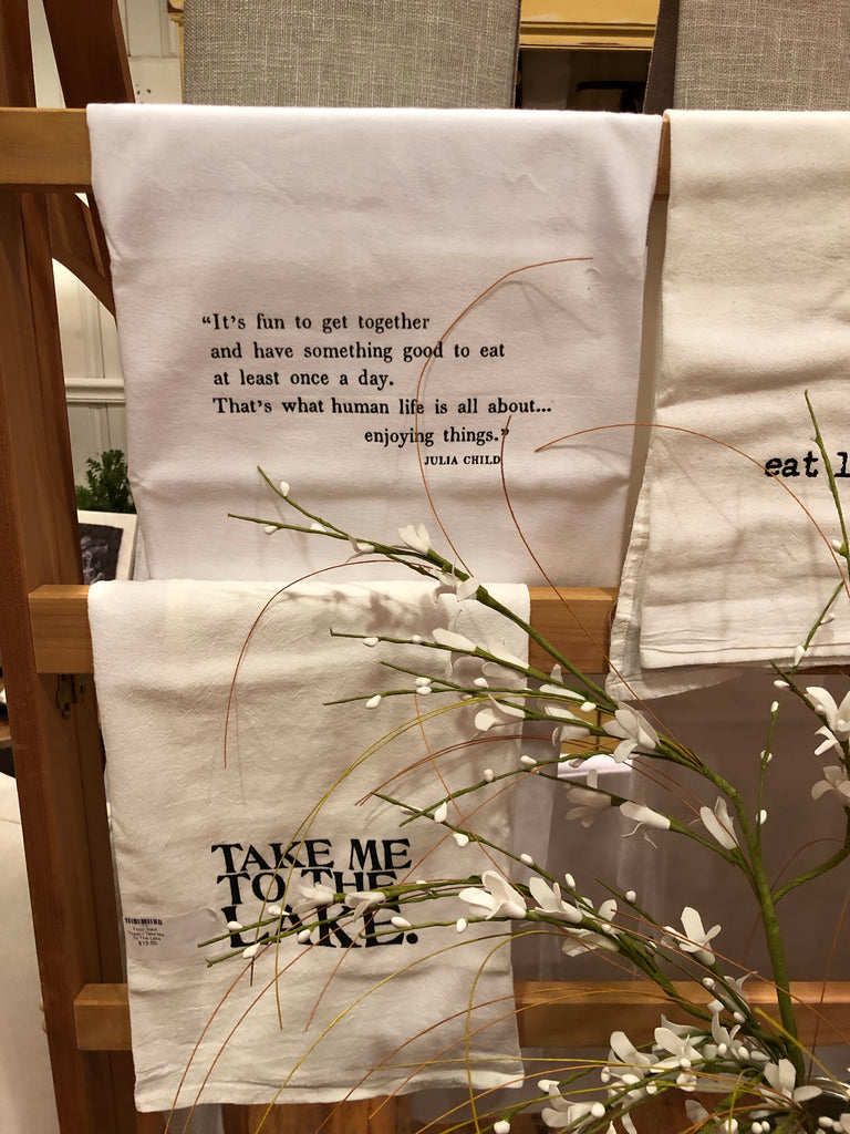 Quote Flour Sack Towel- Individual
